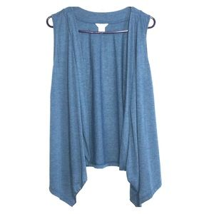 Christopher & banks Sleeveless cardigan